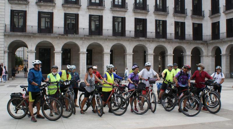 Desde Cantabria ConBici coincidimos con Verdes Equo Cantabria reivindicando la bicicleta como gran opción de turismo sostenible