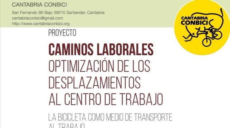 Proyecto Caminos Laborales de Cantabria ConBici en colaboración con el Gobierno de Cantabria